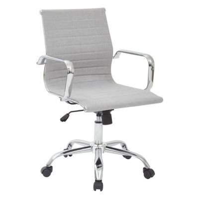 Archer Executive Chair in Milford Dove Fabric - BP-ARCEX-M24