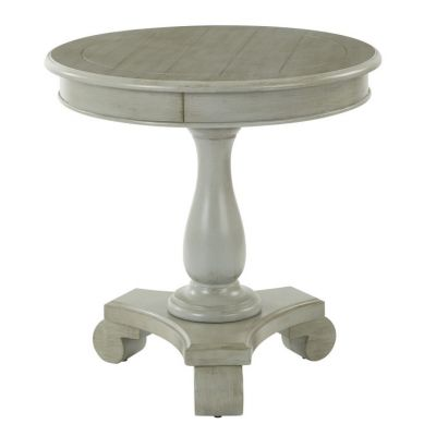 Avalon Round Accent table in Antique Grey - BP-AVLAT-YM19