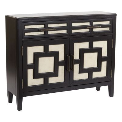 Elmdale Storage Cabinet in Black - BP-ELMCSL-HC3