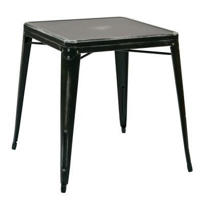 Bristow Metal Table in Antique Black - BRW432-AB
