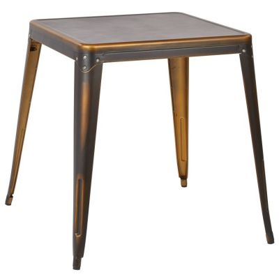 Bristow Metal Table in Antique Copper - BRW432-AC