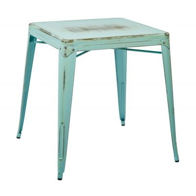 Bristow Metal Table in Antique Sky Blue - BRW432-ASB