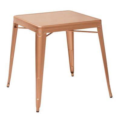 Bristow Antique Metal Table in Copper - BRW432-CP