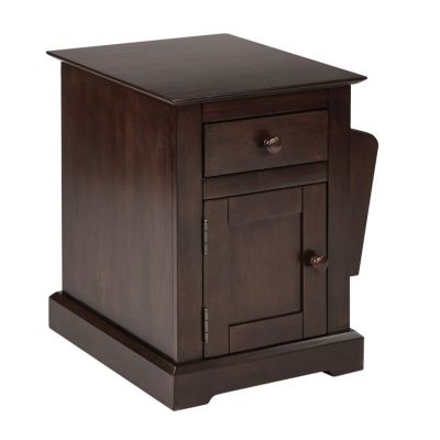 Colette Side Table in Walnut - CLT08AS-WA