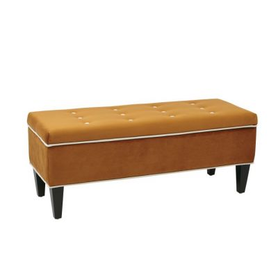 Cambridge Storage Bench in Goldenrod - CMB-G2