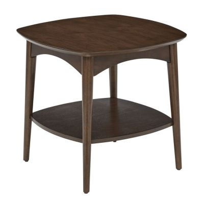 Copenhagen Accent Table in Walnut - CPH17-WA