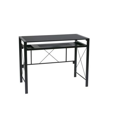 Creston Desk in Black - CRS25-3