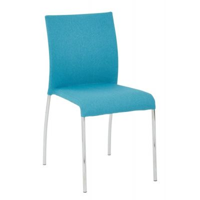 Conway Stacking Chair in Aqua - CWYAS2-CK007