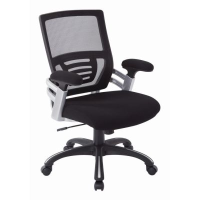 Mesh Back Manager's Chair in Black - EMH69176-3