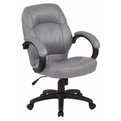 Deluxe Managers Chair in Charcoal Grey - FL605-U42