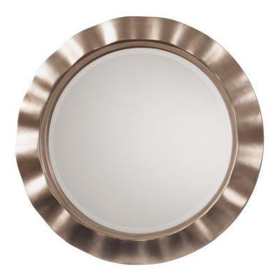 Cosmos Beveled Wall Mirror in Silver - GC0511