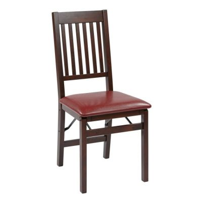 Hacienda Folding Chair 2-Pack in Red - HA424-RD