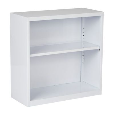 Metal Bookcase in White - HPBC11