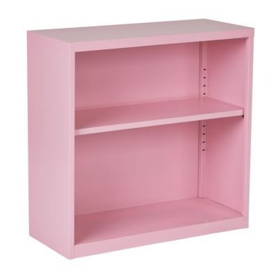 Metal Bookcase in Pink - HPBC261
