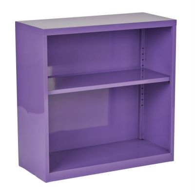 Metal Bookcase in Purple - HPBC512