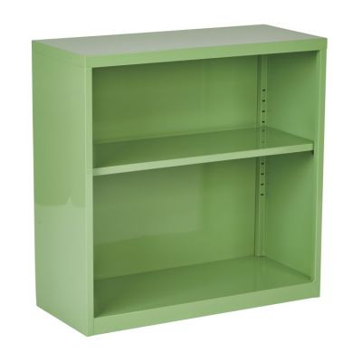 Metal Bookcase in Green - HPBC6