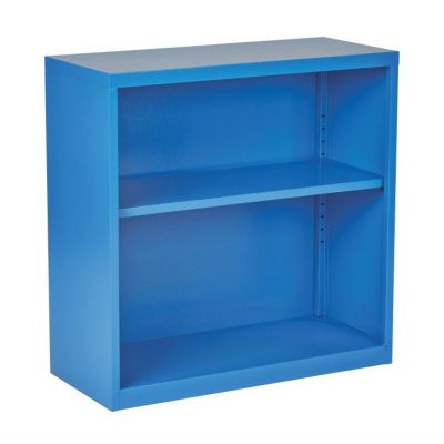 Metal Bookcase in Blue - HPBC7