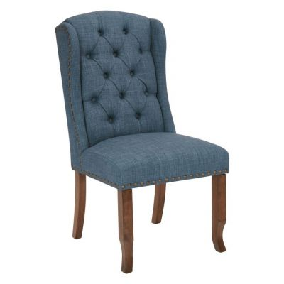 Jessica Tufted Dining Chair in Navy - JSA-L39
