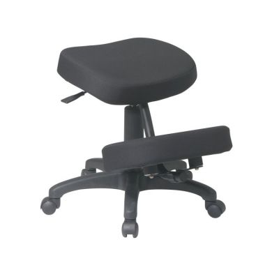 Ergonomically Designed Knee Chair in Coal - KCM1425