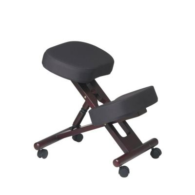 Ergonomically Designed Knee Chair in Coal - KCW773