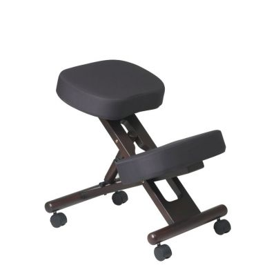 Ergonomically Designed Knee Chair in Coal - KCW778