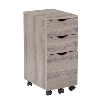 Lois Storage File Cabinet in Dark Driftwood - LOI60-DDW
