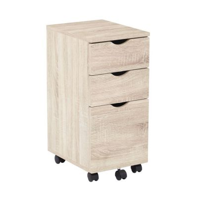 Lois Storage File Cabinet in Light Driftwood - LOI60-LDW