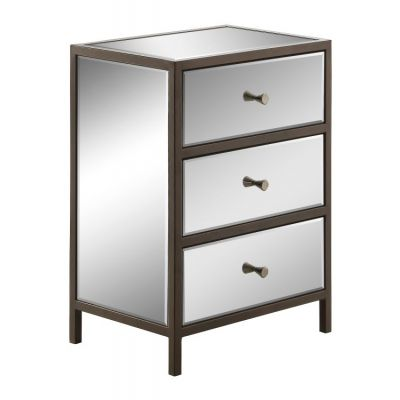 Marquis Cabinet in Mirrored - MARQ163