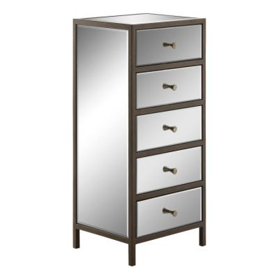 Marquis Vertical Cabinet in Mirrored - MARQ165