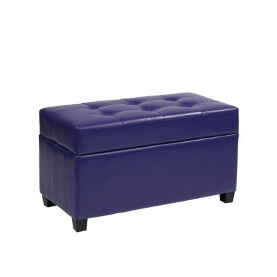 Storage Ottoman in Purple - MET804V-PB512