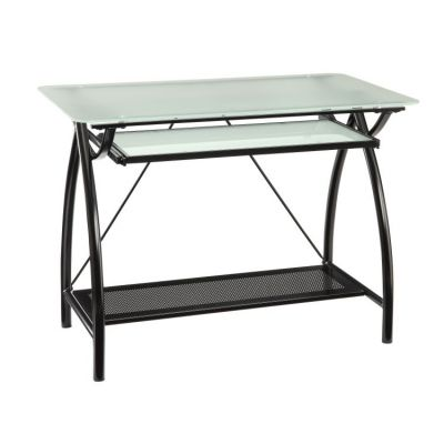 Newport Computer Desk in Black - NWP25-BK