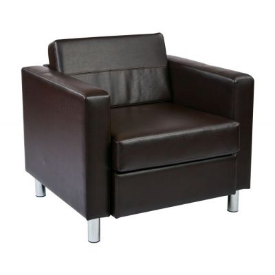 Pacific ArmAshley Chair in Espresso - PAC51-V34