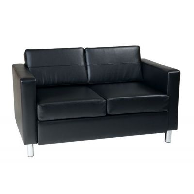 Pacific LoveSeat in Black - PAC52-V18