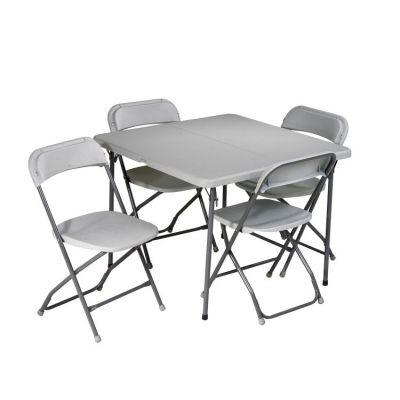 5 Piece Folding Set in Light Grey - PCT-05