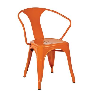 30'' Metal Chair in Orange - PTR2830A2-18