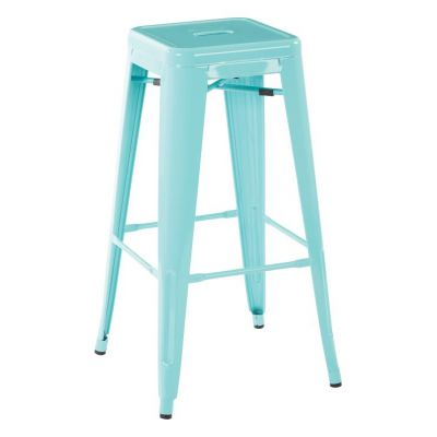 30'' Steel Backless Barstool in Mint Green - PTR3030A2-16