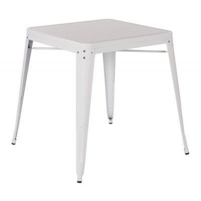 Patterson Metal Table in White - PTR432-11