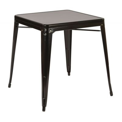 Patterson Metal Table in Black - PTR432-3