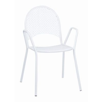 Steel Stacking Chairs in White - STC18A2-11