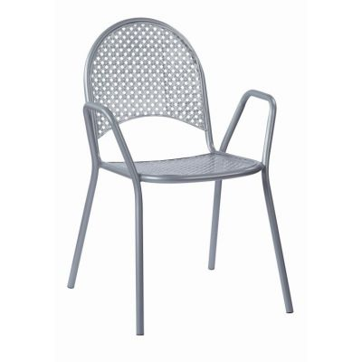 Steel Stacking Chairs in Grey - STC18A2-2
