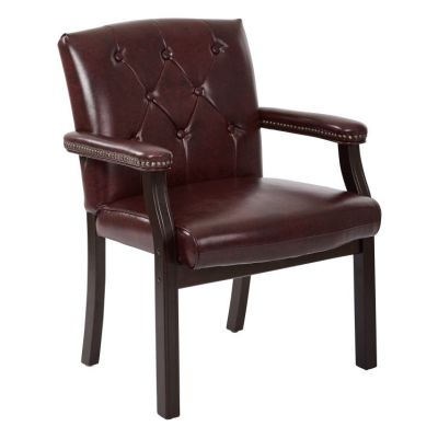 Traditional Visitors Chair in Mahogany - TV233-JT4