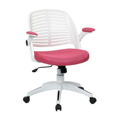 Tyler Office Chair in Pink - TYLA26-W261