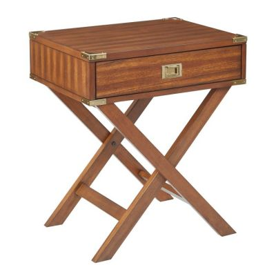 Wellington Side Table in Toasted Wheat - WEL1392-TW