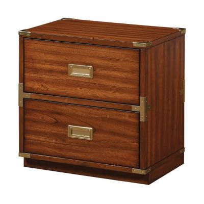 Wellington 2-Drawer Cabinet in Toasted Wheat - WEL1622-TW