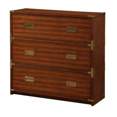 Wellington 3-Drawer Cabinet in Toasted Wheat - WEL4143-TW