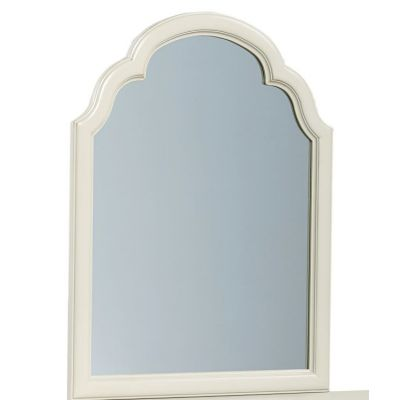 Inspirationals Portrait Mirror In Seashell White - 3832-0100