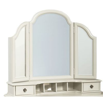 Inspirationals Vanity Mirror In Seashell White - 3832-6201