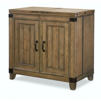 Metalworks Bar Cabinet In Factory Chic - 5610-155