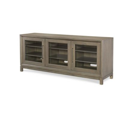 Highline Entertainment Console In Greige - 6000-023