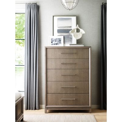 Highline Drawer Chest In Greige - 6000-2200